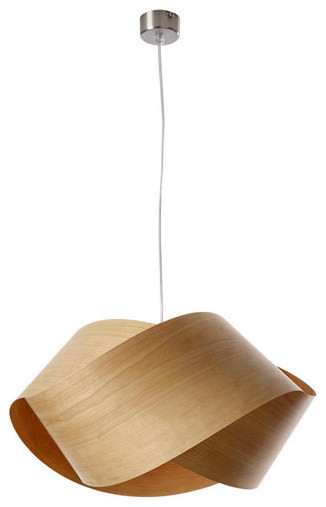 Impressive Well Known Wood Veneer Light Fixtures Within Easy To Make Wood Veneer Pendant Lamp Light Fixture Lighting (View 4 of 25)