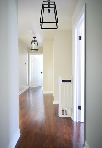 Impressive Well Known Young House Love Pendant Lights Throughout Three Oversized Lantern Lights For The Hallway Young House Love (View 16 of 25)