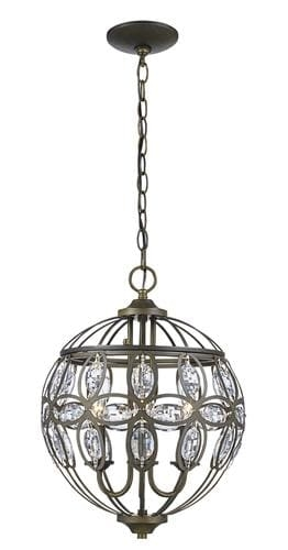 Impressive Wellliked Patriot Lighting Pendants Throughout Patriot Lighting Nicole 3 Light Antique Brass Pendant Light (Image 19 of 25)