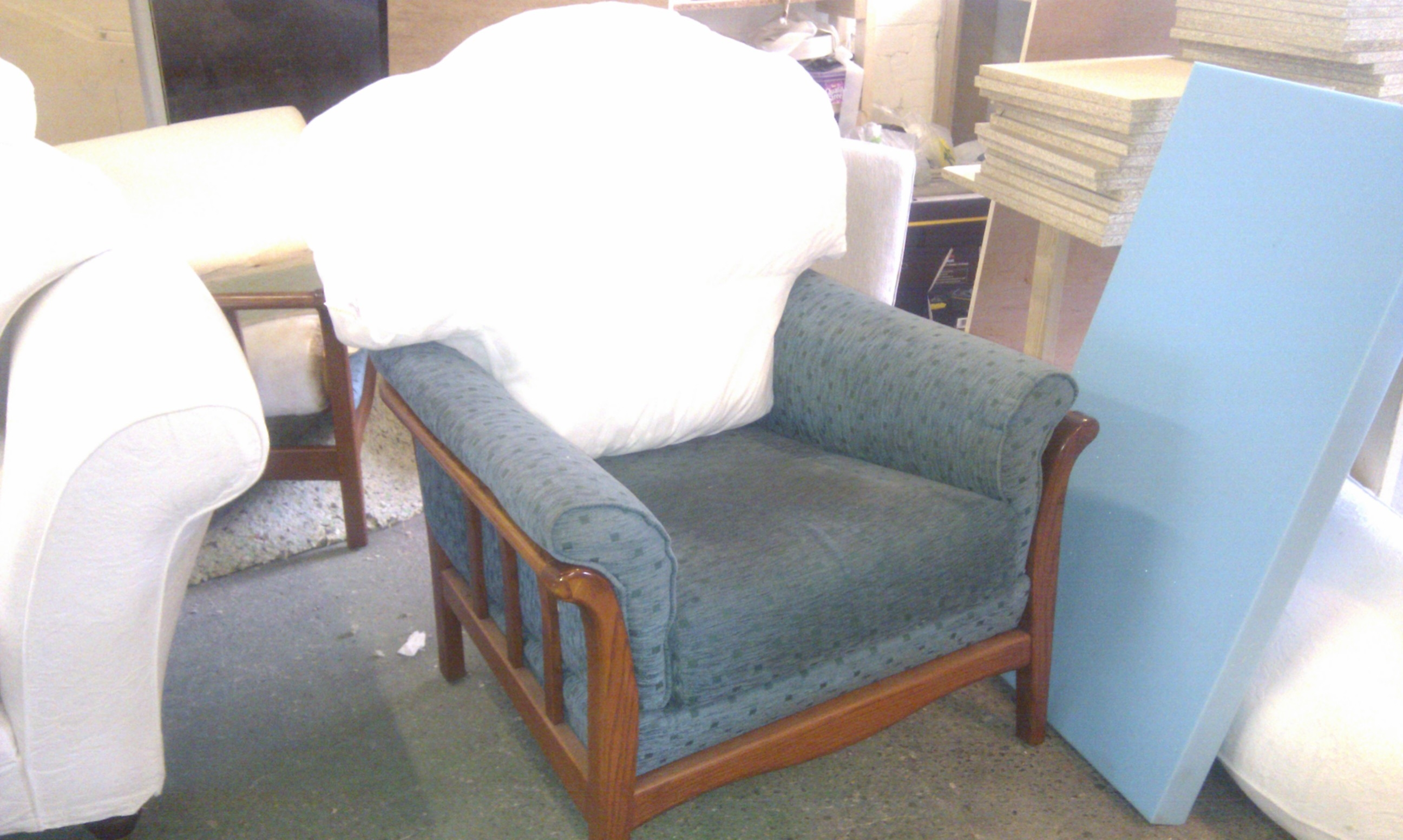 Impressive Widely Used Cintique Chair Covers For Cintique Arm Chairs And Sofa Abbey Upholstery And French (View 4 of 15)