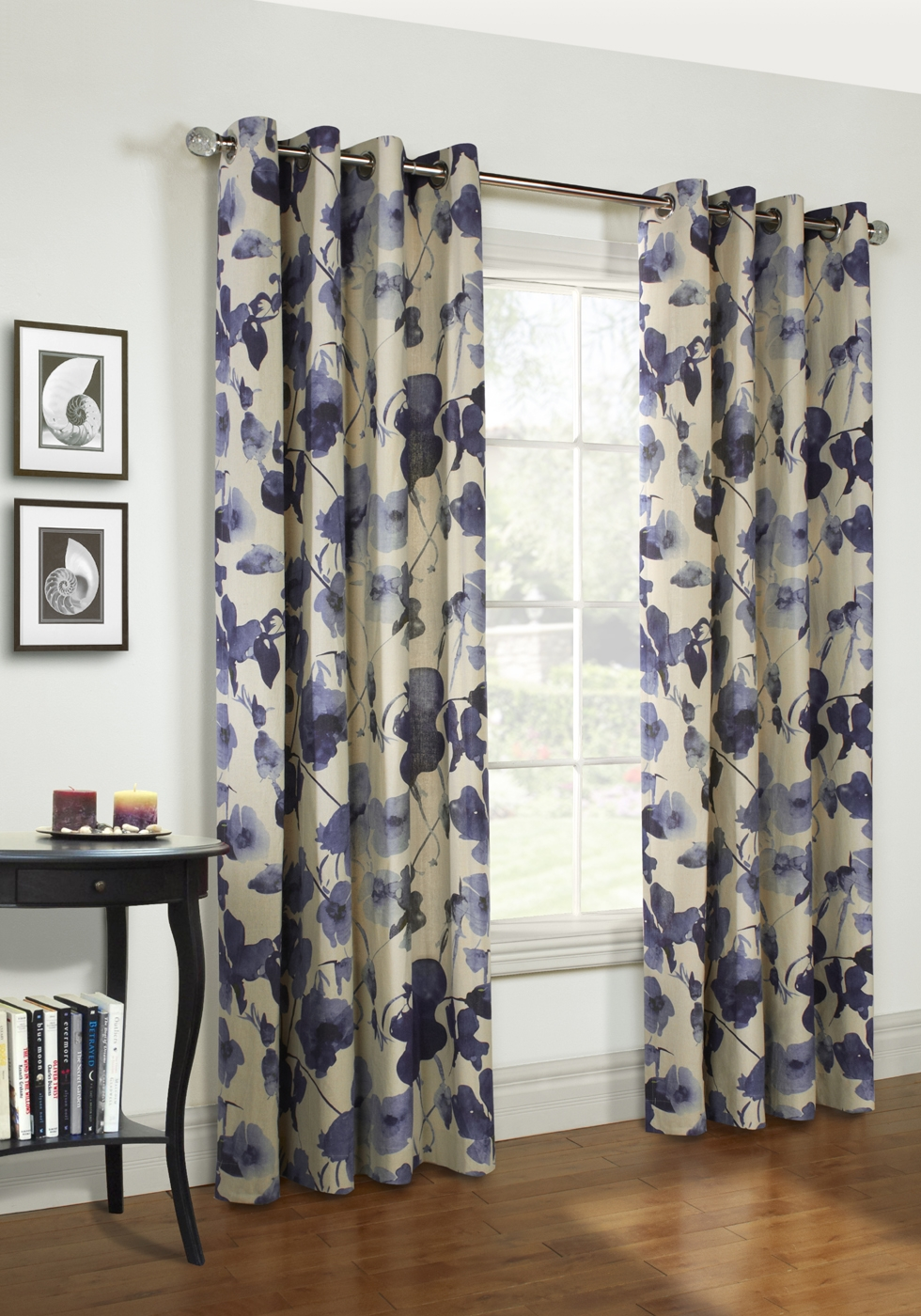 Indoor Outdoor Grommet Top Curtains And Panels Thecurtainshop Throughout Linen Grommet Curtains (Image 9 of 25)
