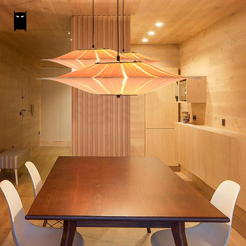 Innovative Best Wood Veneer Light Fixtures Throughout Popular Wood Veneer Lamp Buy Cheap Wood Veneer Lamp Lots From (View 20 of 25)