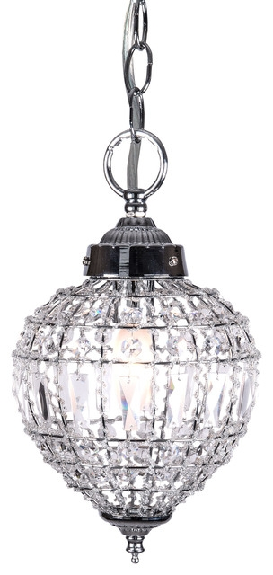 Innovative Brand New Black Pendant Light With Crystals For Crystal Mini Pendant Lights Houzz (Image 11 of 25)