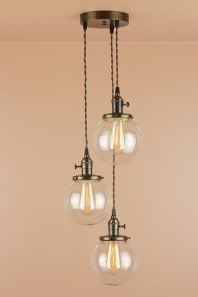Innovative Brand New Bolio Pendant Lights With Glass Globe Pendant Light Foter (Image 16 of 25)