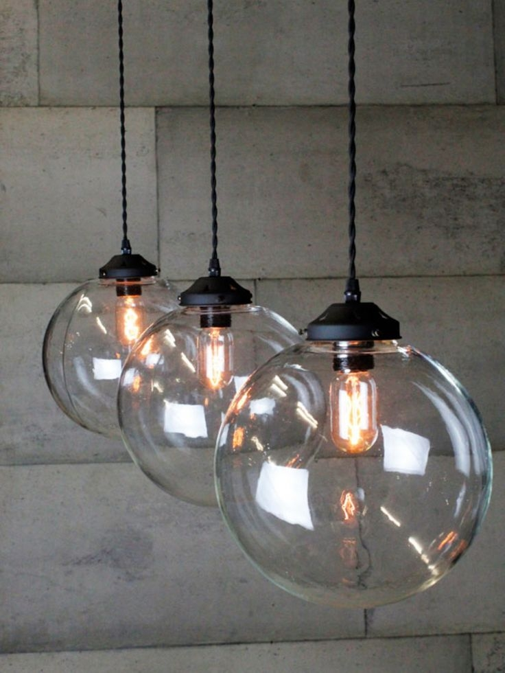 Innovative Common Globe Pendant Light Fixtures Regarding Best 25 Kitchen Island Lighting Ideas On Pinterest Island (View 22 of 25)