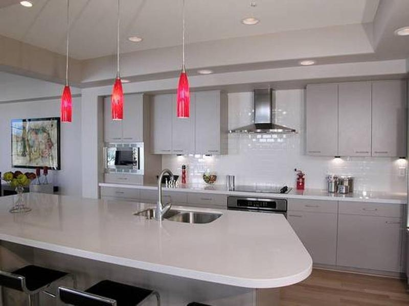 Innovative Deluxe Pendant Lamps For Kitchen With Regard To Beautiful Kitchen Ceiling Light Design Ideas Rilane (Image 16 of 25)