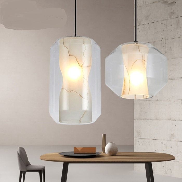Innovative Famous French Style Glass Pendant Lights Throughout Online Get Cheap French Style Pendant Lighting Aliexpress (Image 15 of 25)