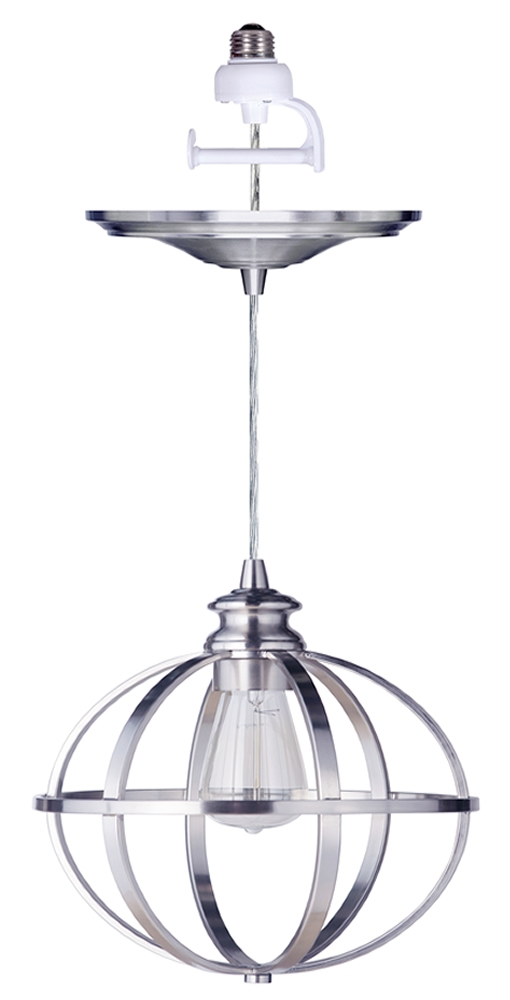 Innovative Famous Instant Pendant Lights For Instant Pendant Series 1 Light Brushed Nickel Recessed Light (View 25 of 25)