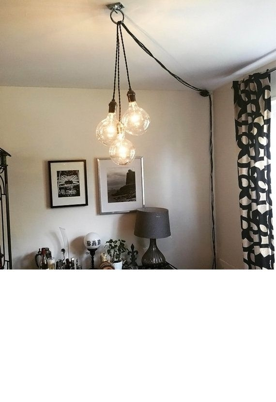 Innovative Famous Plug In Hanging Pendant Lights For Best 25 Plug In Pendant Light Ideas On Pinterest Edison (Image 19 of 25)