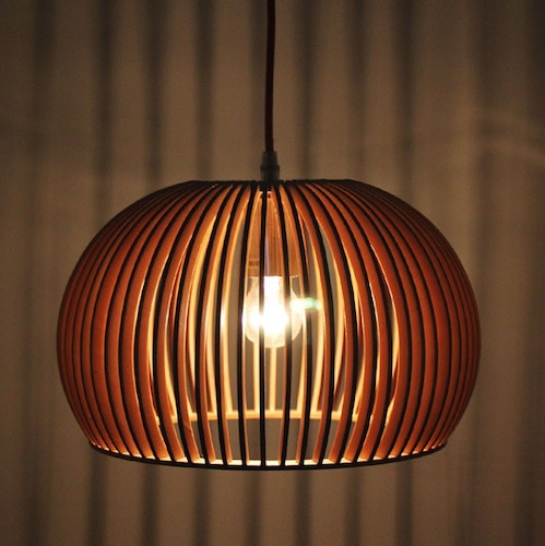 Innovative Fashionable Bentwood Pendant Lights With Regard To Win Parrot Uncle Wooden Lamp Fallhome Lighting Giveaway (Image 15 of 25)