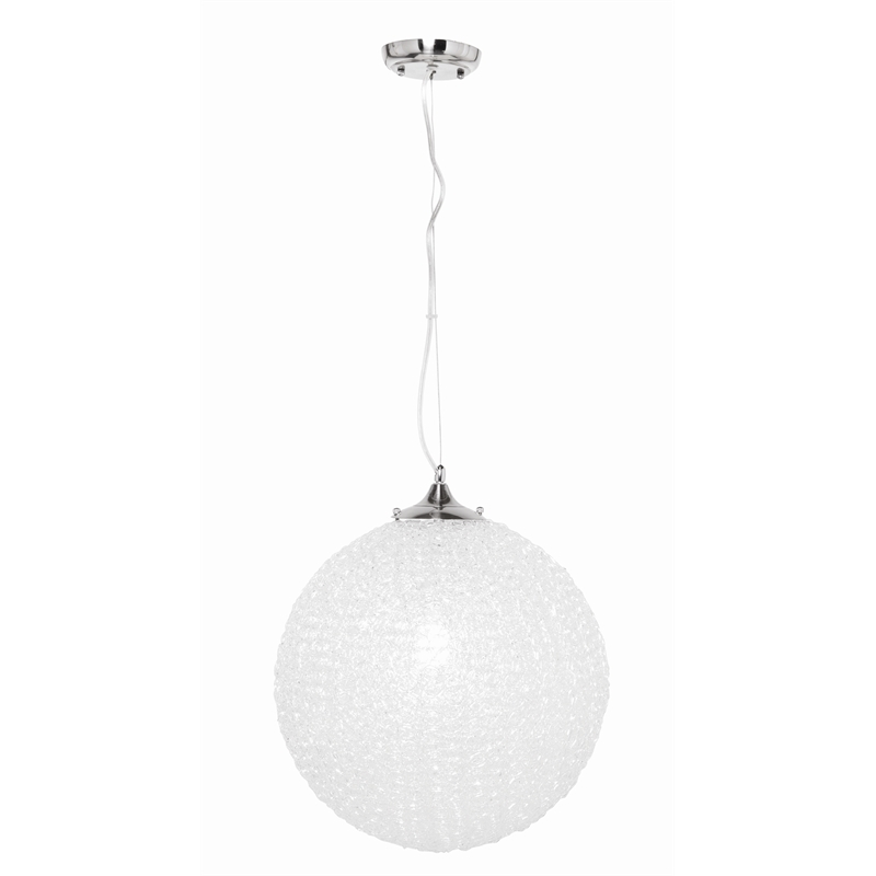 Innovative Favorite Ball Pendant Lighting For Brilliant 60w Amelie 400mm Acrylic Ball Pendant Light Bunnings (Image 12 of 25)