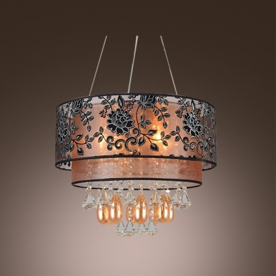 Innovative Favorite Black Pendant Light With Crystals Intended For Fashion Style Chandeliers Crystal Lights Beautifulhalo (Image 12 of 25)