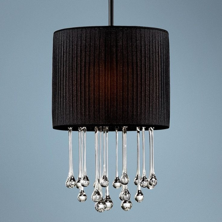 Innovative High Quality Black Pendant Light With Crystals Pertaining To 27 Best Lighting Images On Pinterest (View 7 of 25)
