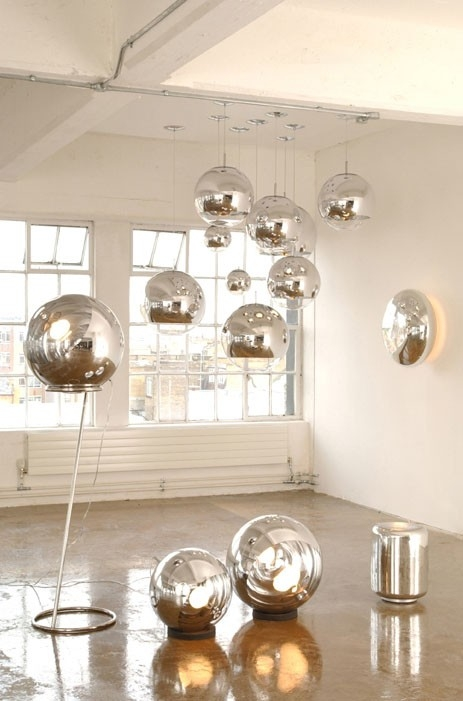 Innovative Latest Disco Ball Pendant Lights Inside Details About Tom Dixon Copper Mirror Ball 6 Size Ceiling Pendant (Image 16 of 25)