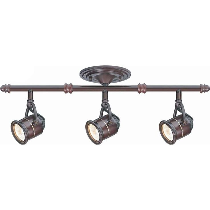 Innovative Latest Hampton Bay Track Lights Inside Hampton Bay Kelso 4 Light Brushed Nickel Fixed Led Track Lighting (Image 14 of 25)