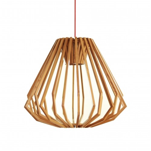 Innovative Latest Replica Pendant Lights Throughout Liora Wood Pendant Light Squat Replica Stuff To Buy Pinterest (Image 13 of 25)