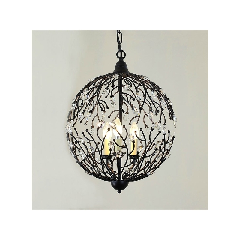 Innovative Latest Wrought Iron Lights With Lighting Ceiling Lights Pendant Lights American Country (View 4 of 25)