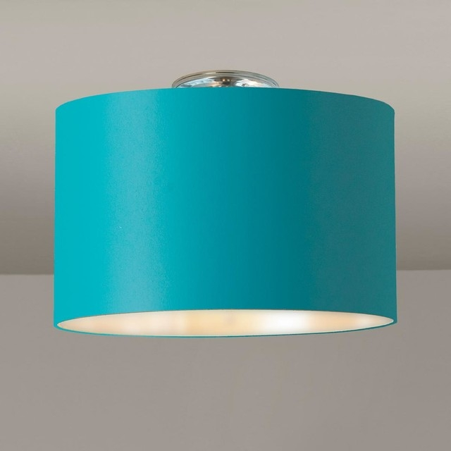 Innovative New Blue Pendant Light Shades Inside Very Stylish Light Blue Lamp Shade Best Home Decor Inspirations (Image 18 of 25)