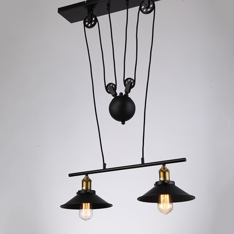 Innovative New Double Pulley Pendant Lights For Online Get Cheap Cord Pulley Aliexpress Alibaba Group (Image 13 of 25)