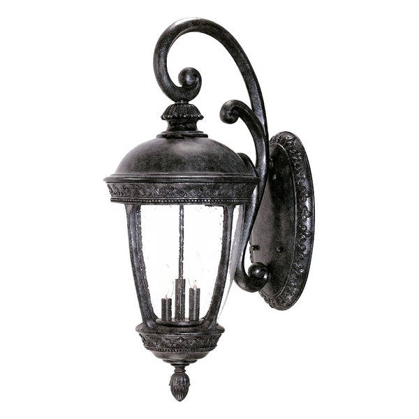 Innovative New Fleur De Lis Light Fixtures With Fleur De Lis Collection Wall Mount 3 Light Outdoor Stone Light (Image 13 of 25)
