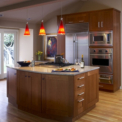 Innovative New Pendant Lamps For Kitchen Pertaining To Kitchen Islands Pendant Lights Done Right (Image 17 of 25)