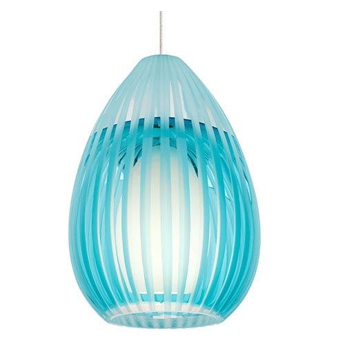 Innovative Series Of Aqua Glass Pendant Lights For Creative Of Aqua Pendant Light Aqua Glass Pendant Lighting (Image 11 of 25)