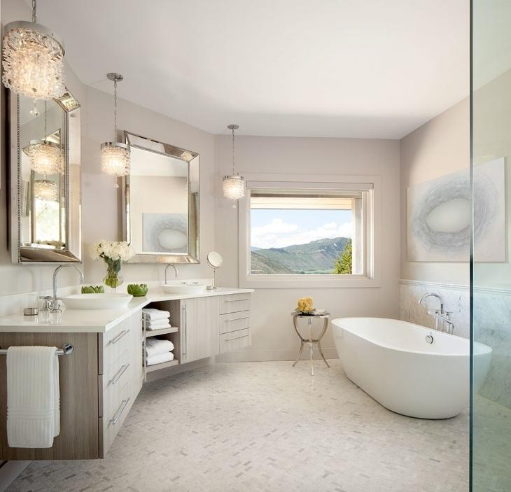 Innovative Series Of Bathroom Mini Pendant Lights Regarding 17 Bathroom Pendant Lighting Designs Ideas Design Trends (Image 20 of 25)
