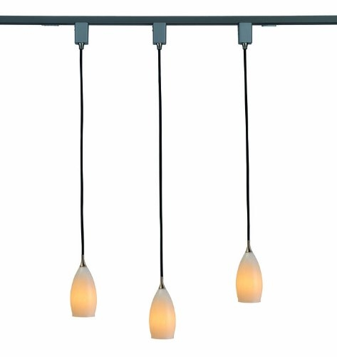 Innovative Series Of Halo Track Pendant Lights Throughout 47 Track Lighting Pendants Jesco Suzy Satin Nickel Linear Track (Image 14 of 25)