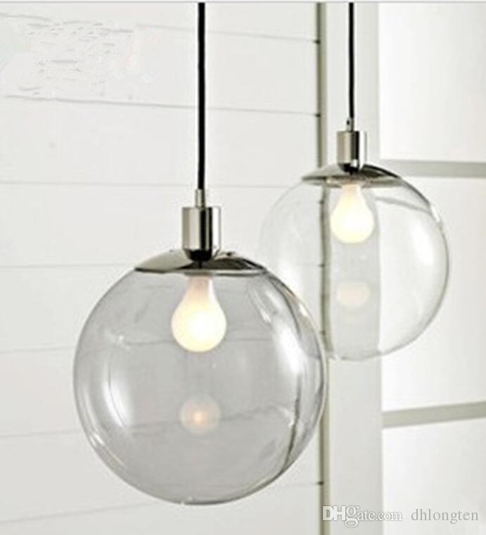 Innovative Top Ball Pendant Lighting In Fashion Lamp Scandinavian Minimalist Glass Ball Pendant Light (Image 14 of 25)