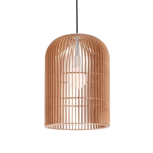 Innovative Top Birdcage Pendant Lights For Modern Original Wood Birdcage Pendant Lighting 10829 Browse (Image 19 of 25)