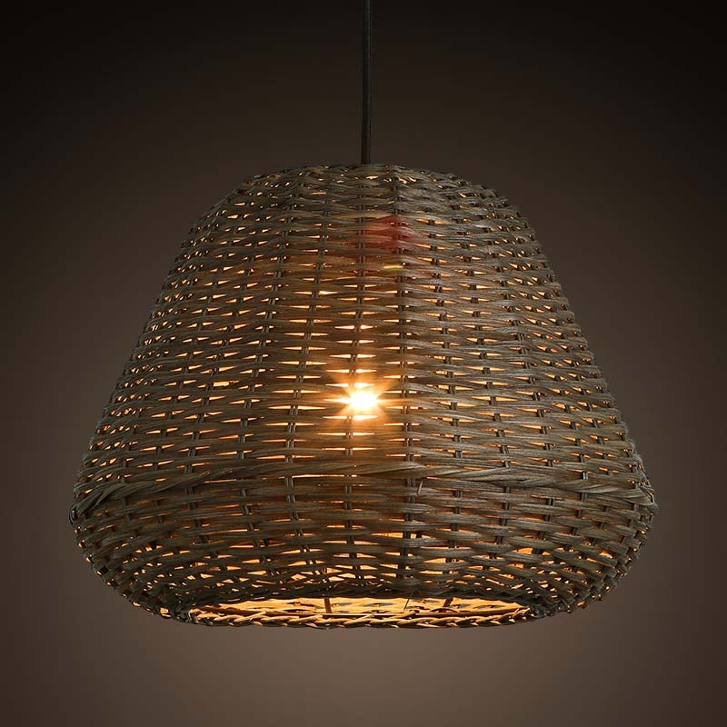 Innovative Top Rattan Pendant Light Fixtures With Popular Rattan Pendant Lamp Buy Cheap Rattan Pendant Lamp Lots (View 23 of 25)