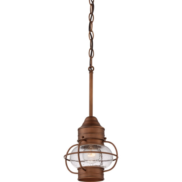 Innovative Trendy Copper Mini Pendant Lights With Regard To Quoizel Tst3375a1 Illumina Mini Pendant Light Fixture Aged Copper (Image 15 of 25)