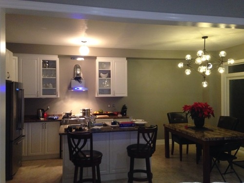 Innovative Trendy Matching Pendant Lights And Chandeliers Throughout Kitchen Pendant Light Shade Suggestions (View 25 of 25)