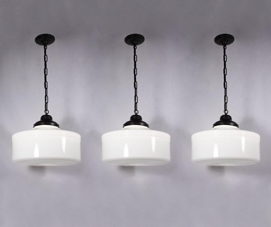 Innovative Trendy Milk Glass Pendants Within Milk Glass Pendant Light Hbwonong (View 2 of 25)
