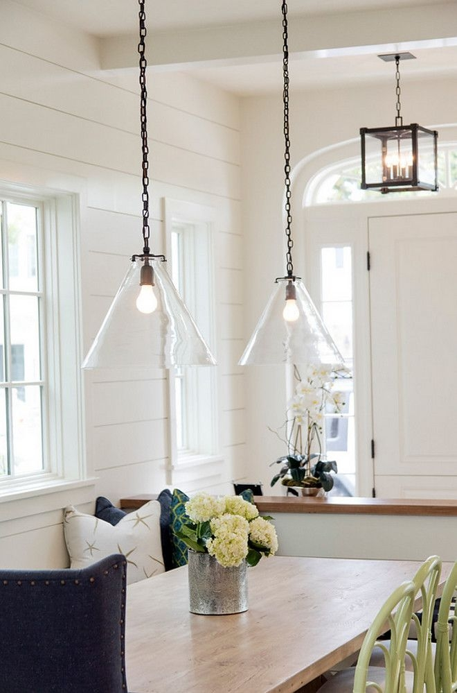 Innovative Unique Beachy Pendant Lights With Regard To Pendant Lights Above Kitchen Counter Large Glass Bell Hanging (Image 17 of 25)