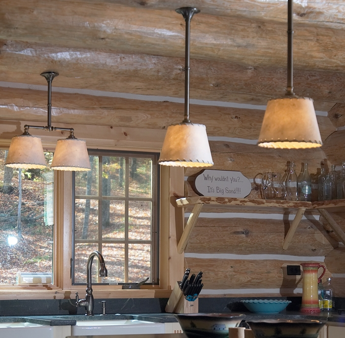Innovative Unique Rustic Light Pendants Within Best Rustic Pendant Lighting Kitchen Photos Decorating Ideas (View 5 of 25)