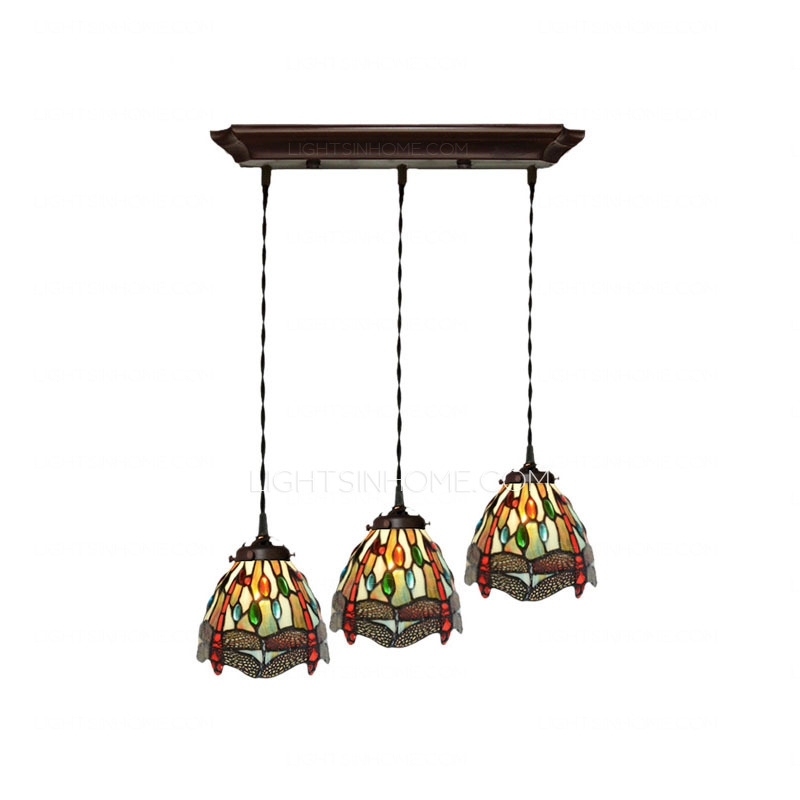 Innovative Variety Of Stained Glass Pendant Light Patterns Inside Decorative Dragonfly Pattern Stained Glass Tiffany Pendant Lights (Image 18 of 25)