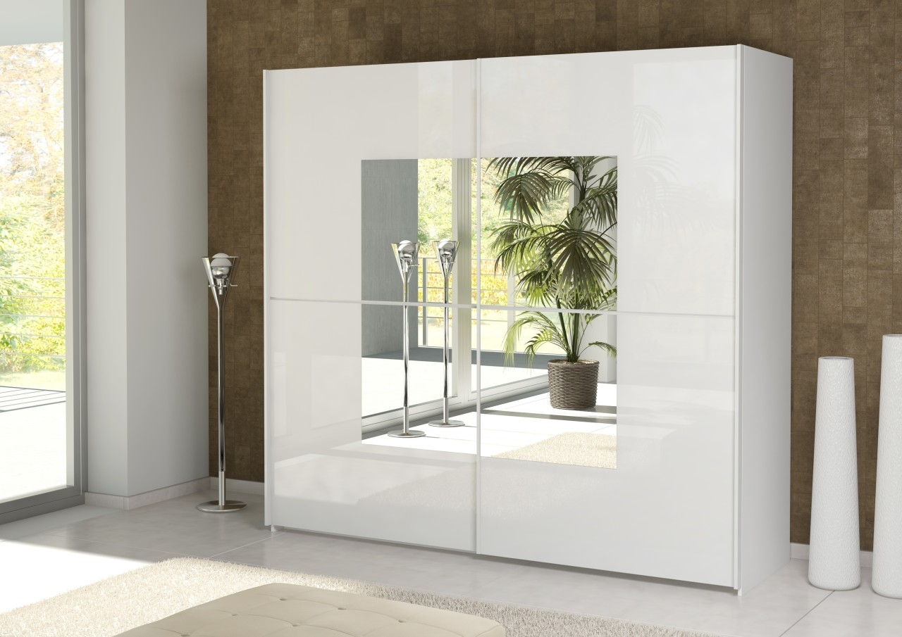 Innovative Wardrobe Design With Sliding Doors And Mirror In Cupboard Sliding Doors (Image 11 of 25)