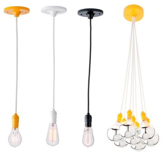 Innovative Wellknown Bare Bulb Pendants With Bare Bulb Chandelier (Image 13 of 25)