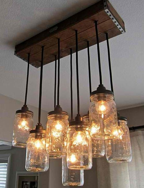 Innovative Wellknown Mason Jar Pendant Lights In Best 25 Mason Jar Lighting Ideas That You Will Like On Pinterest (Image 19 of 25)