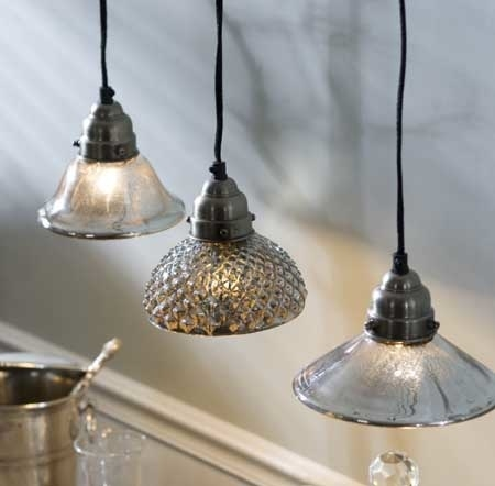 Innovative Well Known Mercury Glass Pendant Lights At Anthropologie Within Lighting Mercury Pendant Roundup Remodelista (Image 17 of 25)