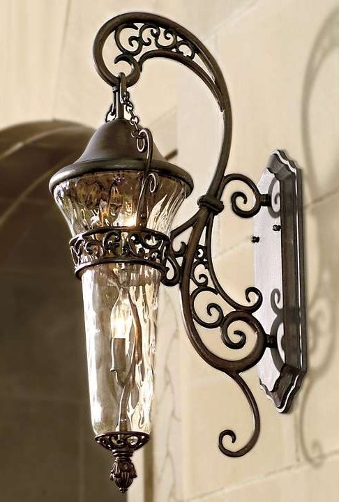 Innovative Wellliked Wrought Iron Lights Within Best 25 Wrought Iron Chandeliers Ideas On Pinterest Wrought (Image 19 of 25)