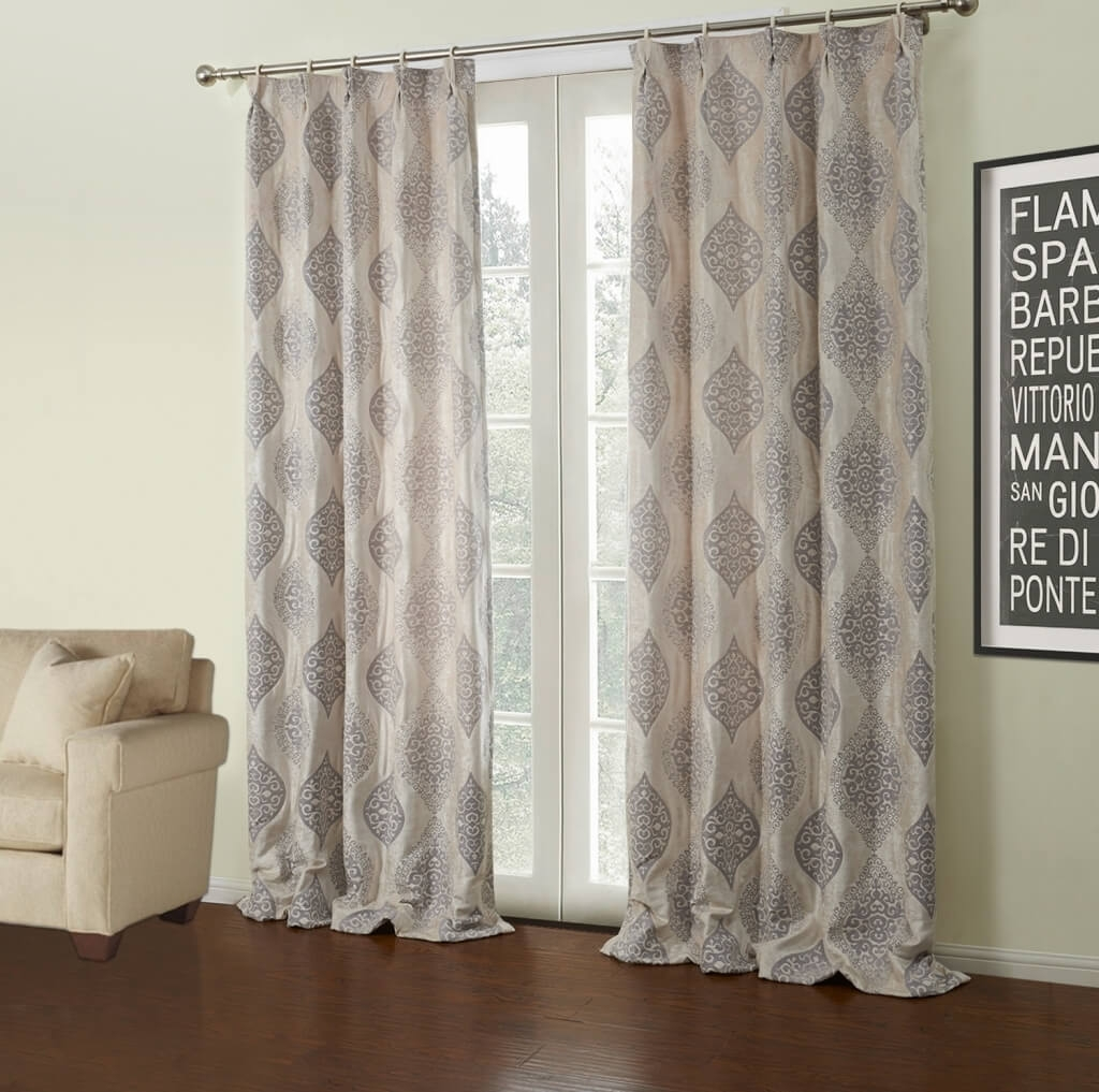 25 Pattern Curtain Panels Curtain Ideas