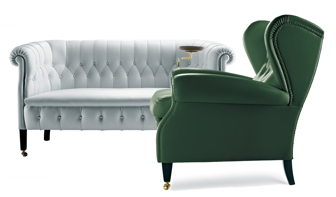 Italian Design News Poltrona Frau Turns 100 Made In Italy Within Sofa Arm Chairs (Image 9 of 15)