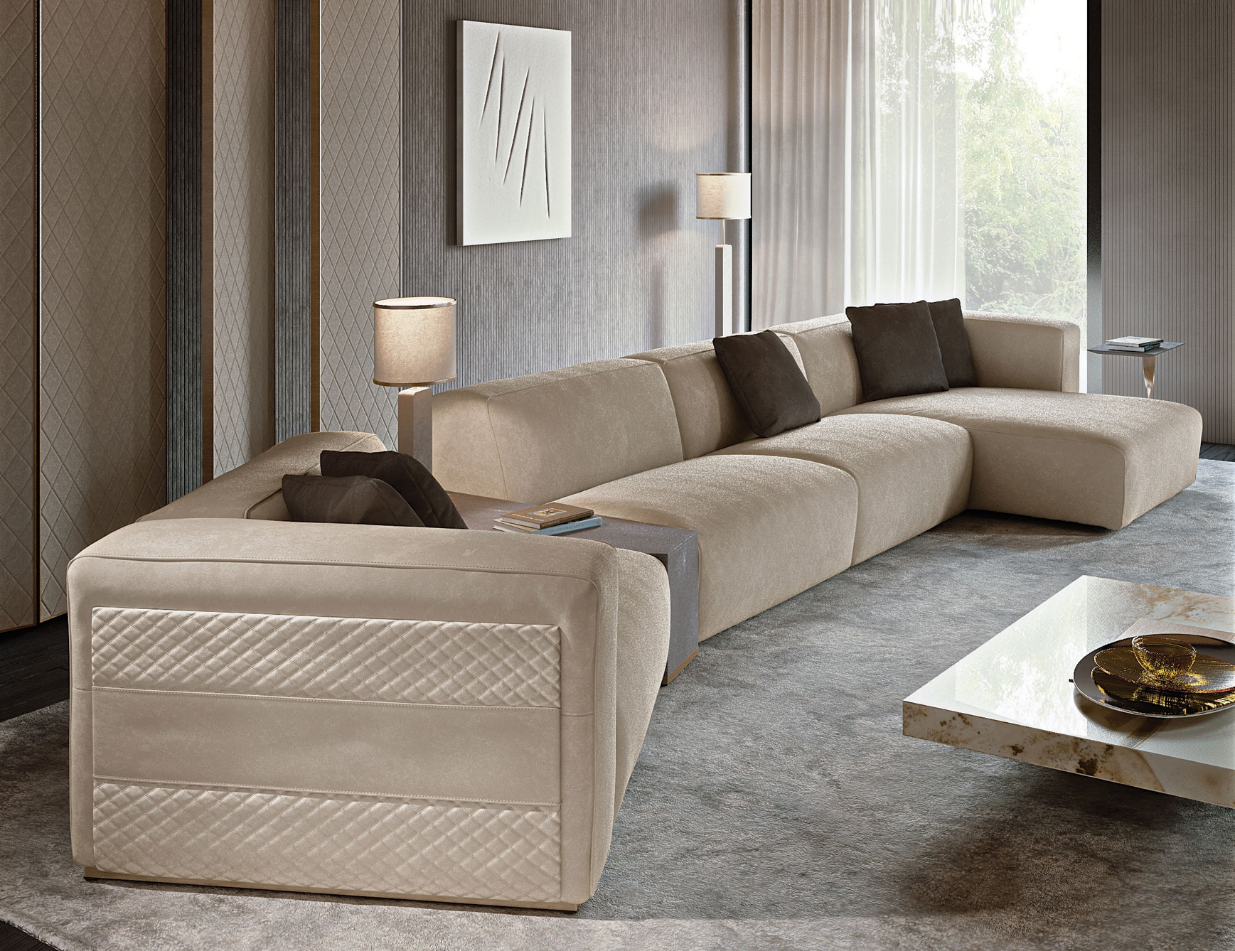 Italian Designer Luxury High End Sofas Sofa Chairs Nella Vetrina Within Sofas And Chairs (Image 4 of 15)