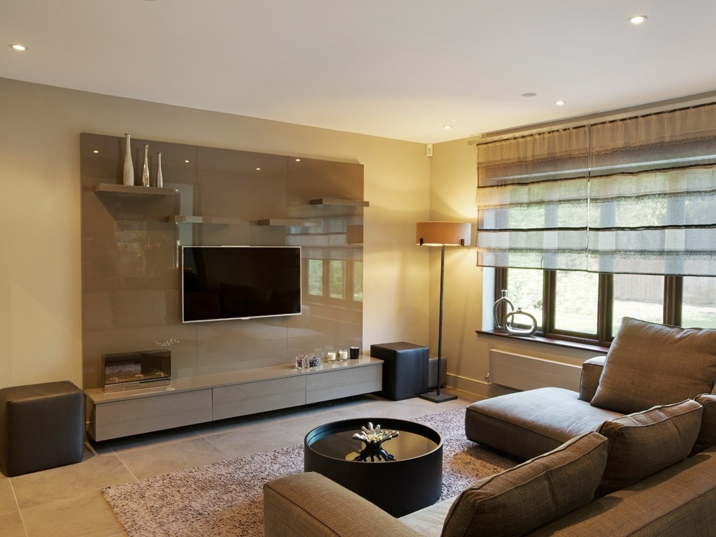 Italian Wall Systems Contemporary Display And Wall Shelves Within Bespoke Tv Cabinets (Image 11 of 15)