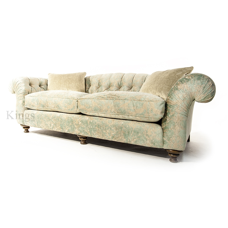 John Sankey Bloomsbury Grand Sofa In Florence Velvet Haze With Regard To Florence Grand Sofas (Photo 1 of 15)