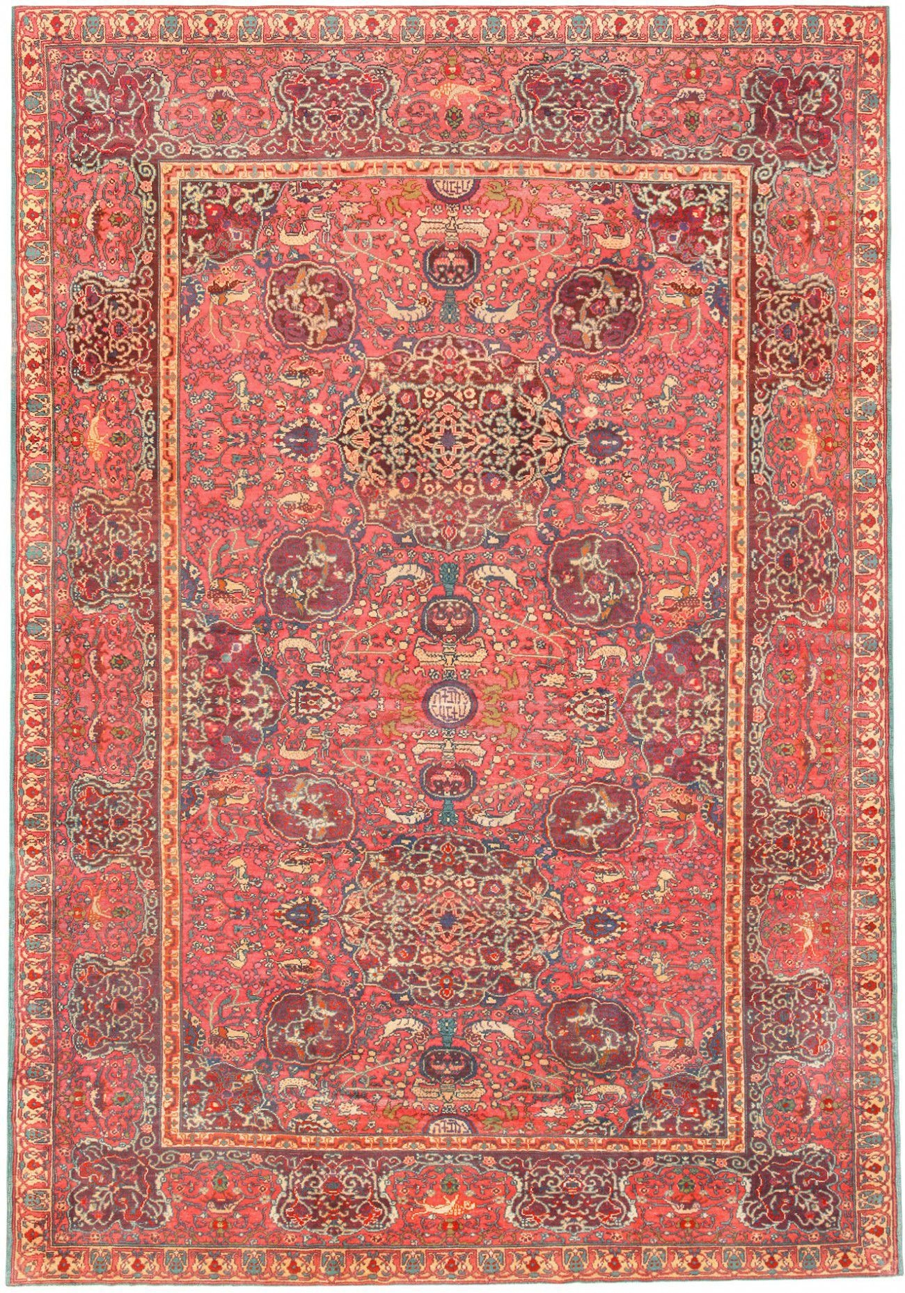 Judaica Rugs Rare Antique Jewish Israeli Carpet Collection Inside Carpet Rugs (Image 7 of 15)