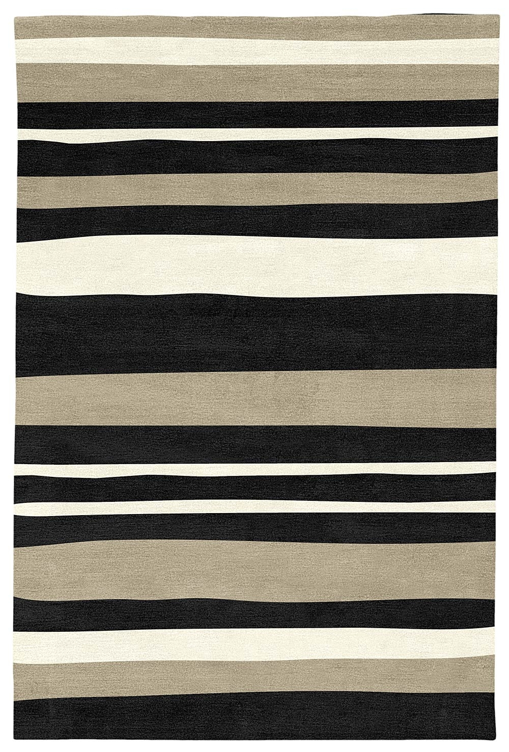 Judy Ross Textiles Rugs Horizon Judy Ross Textiles With Cream And Black Rugs (Image 12 of 15)