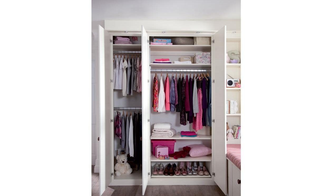 Kids Bedroom Furniture Childrens Bedroom Designs Sharps Throughout Wardrobe Double Hanging Rail (Image 11 of 15)